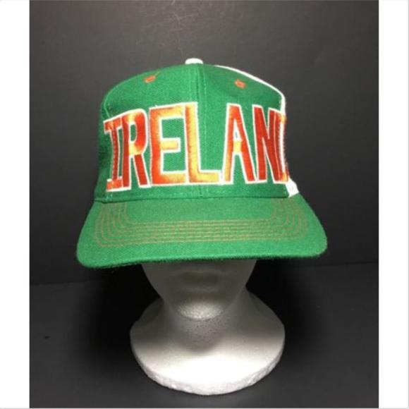 adidas Other - Vintage adidas Trefoil Ireland FAI Snapback Hat 6a4d613bfbad